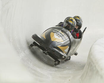 bobsled race